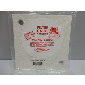 #2 Filter Pads BV Super-Jet pk / 3