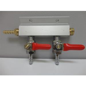 2-Way Gas Manifold 1 / 4''