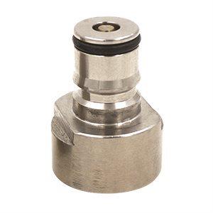 Ball Lock Liquid Conversion Plug for Sanke Keg Coupler