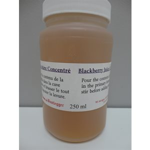 Blackberry Juice Concentrate 250 ML